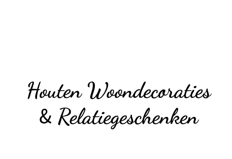Wall of Decoree. Houten woondecoraties & relatiegeschenken